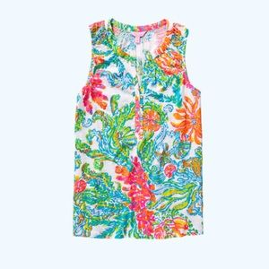Lilly Pulitzer Essie knit top XS NWT